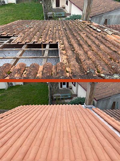 rénovation toiture à Pessac