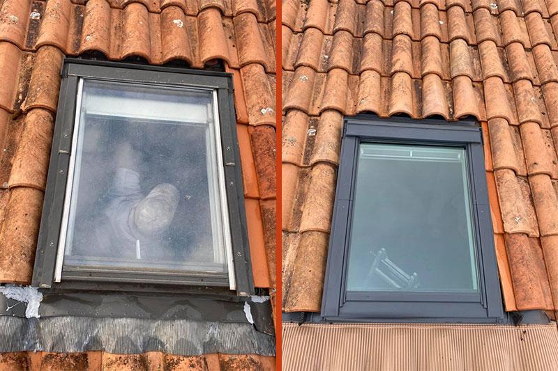 remplacement de fenêtre de toit à Bordeaux